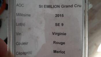 wheat wine grand cru vat details