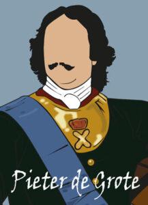 Pieter de Grote illustratie van Gebroeders Roodbaard