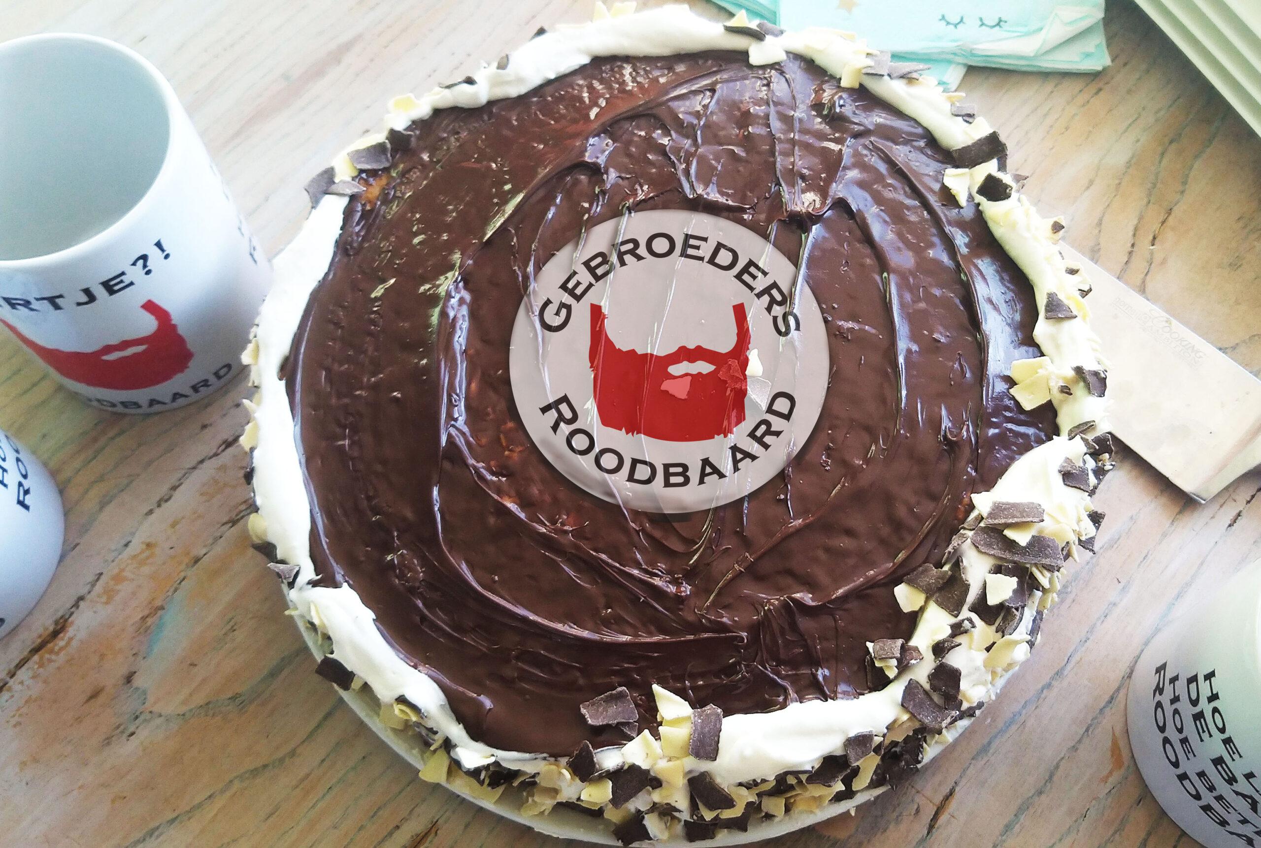 5 jarig jubileum taart