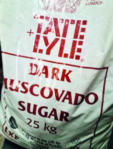 Moscovado suiker